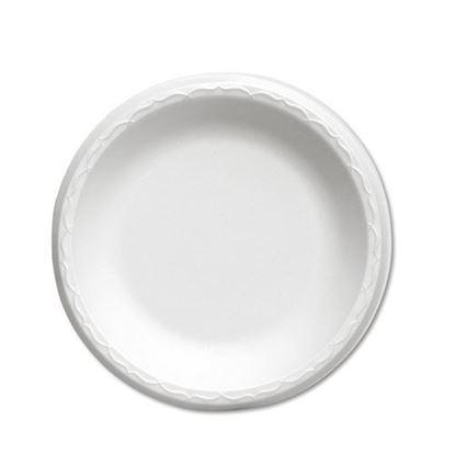 "Picture of 10.25"" Foam Plate 1 Compartment (125x4) Bulk"
