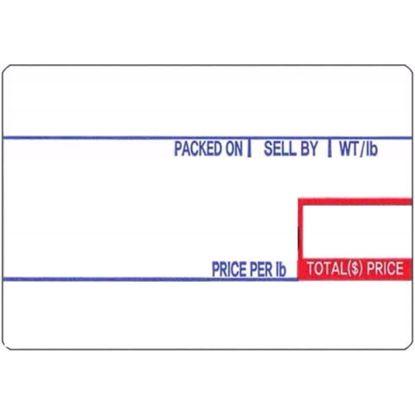 Picture of 8010 CAS Labels (12 Rolls/cs) CN