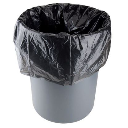 """Picture of 58"""" Black Garbage Bags (Extra Heavy Duty)"""