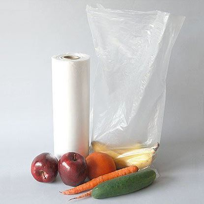 Picture of 12x20 HDPE Clear Produce Bags(12Lbs)