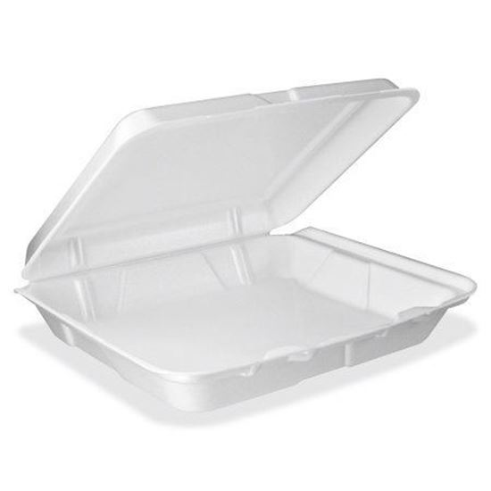 Picture of 883 One Compartment Foam Lunch Box (8x8x3)