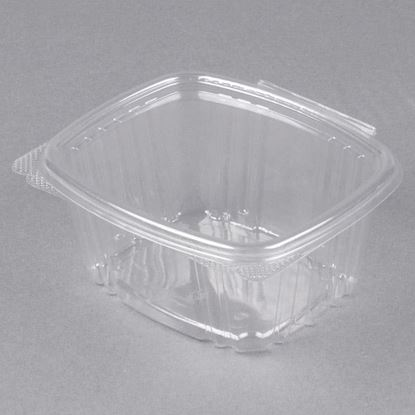 Picture of 16oz Clear Hinged Deli Container 200 sets