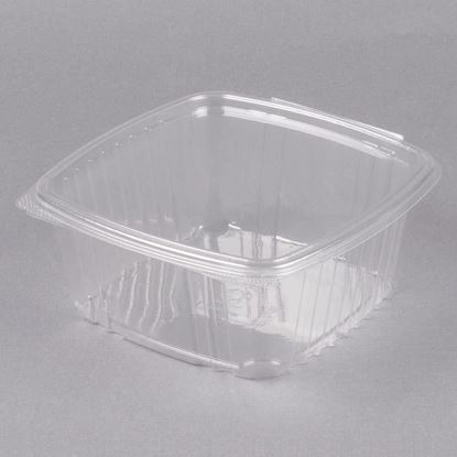 Picture of 48oz Clear Hinged Deli Container 200 sets