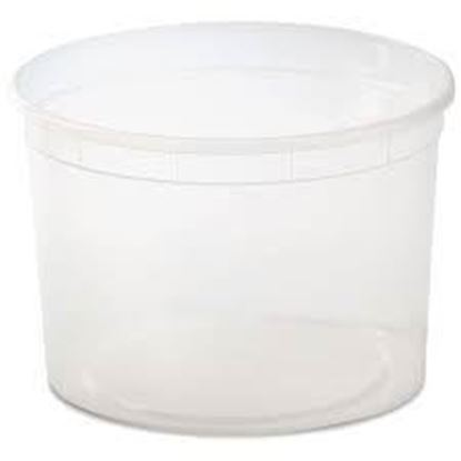 Picture of 64oz Plastic Soup Container Cups & Lids (200sets/cs)