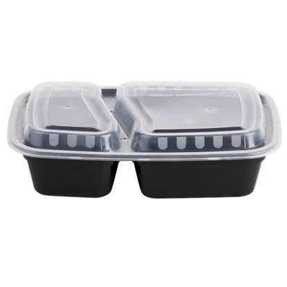 Picture of 6828# Black Combo Pack 2 Compartment 28oz (150 sets)