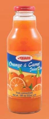 Picture of SQUARE Juice Orange & Carrot 18 fl. oz (12p/cs)