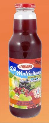 Picture of SQUARE Juice Multivitamin Red 18 fl. oz (12p/cs)