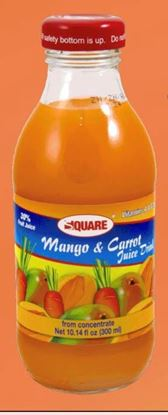 Picture of SQUARE Juice Mango & Carrot 10.14 fl. oz (15p/cs)