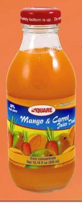 Picture of SQUARE Juice Mango & Carrot 10.14 fl. oz (15p/cs)