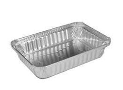 Picture of 4.43x5-5.44x1.75 Oblong 1Lb Aluminum Container(20oz/500/cs)