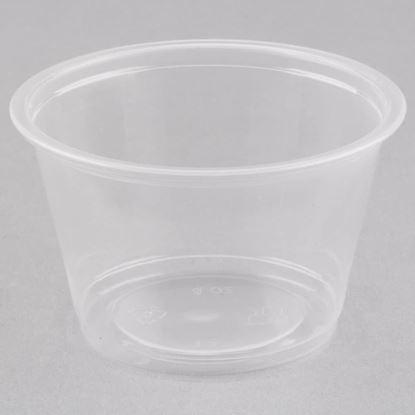 Picture of 4 oz Plastic Sauce Cup (2000pcs)