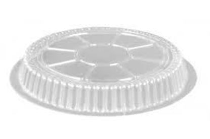 "Picture of 7"" Round Clear Plastic Dome Lids(500/cs)"