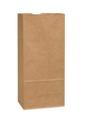 Picture of #2  LD Brown Paper Bag (500pcs)