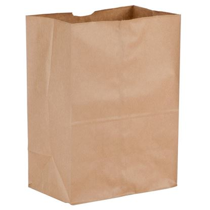 Picture of #1/8  LD Squat Brown Paper Bag 50lb (500pcs)
