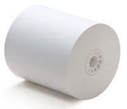 "Picture of 3 1/8""x 110'  Credit Card Thermal Paper 50 roll /cs"