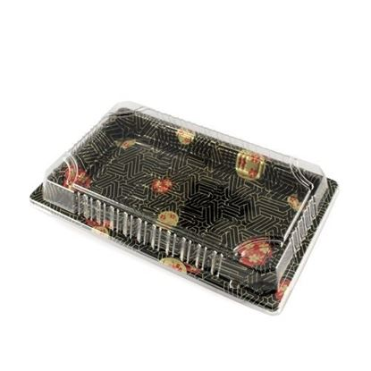 "Picture of 15oz Sushi Tray Combo 1000set (8.5"" x 5.25"" x 0.75"")"