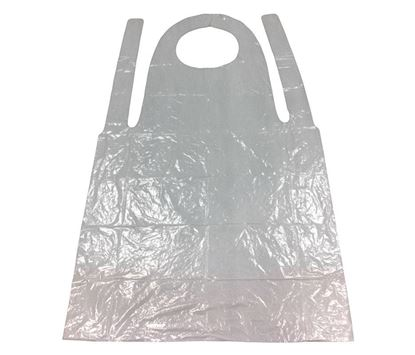"Picture of Poly Apron 28""x46"" (100/pk)"